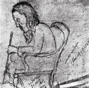 Portrait of fakir-lalon-shah